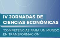 Se avecinan las IV Jornadas de Ciencias Económicas