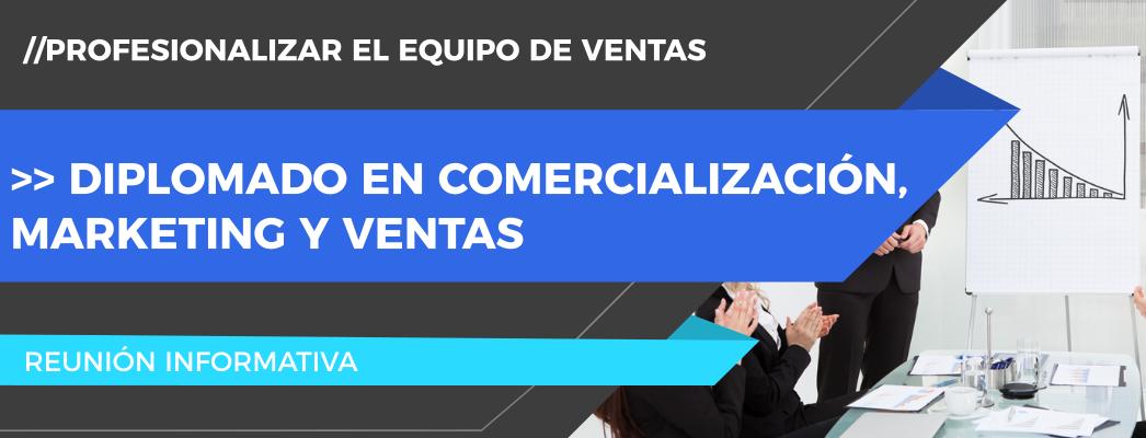 Diplomado en Comercialización, Marketing y Ventas