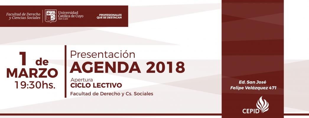 Presentación-AGENDA 2018