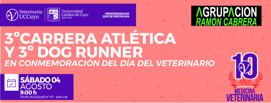 3º Carrera Atlética y 3º Dog Runner