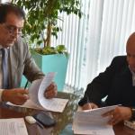 La UCCuyo firmó dos acuerdos específicos con el Ministerio de Medio Ambiente, Campo y Producción