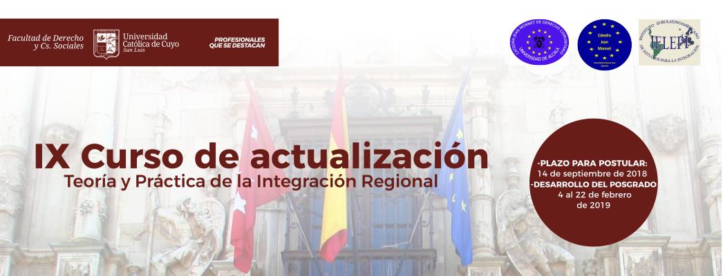 Teoría y Práctica de la Integración Regional- Alcalá