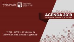 La FDyCS presentó su agenda de Actividades 2019