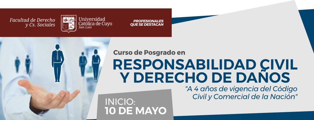 Curso de Posgrado en Responsabilidad Civil
